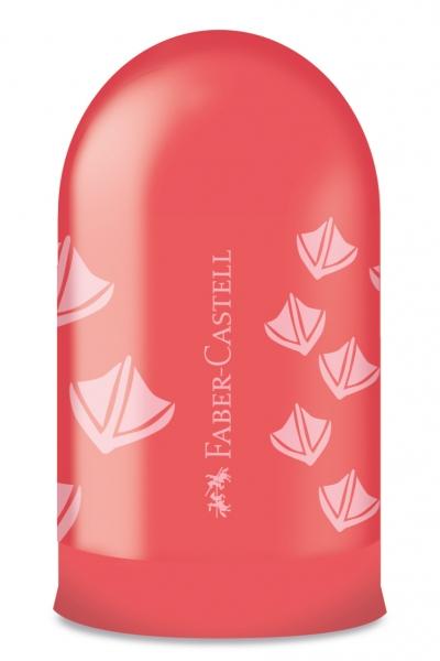 Ascutitoare Simpla cu Container Amprente Faber-Castell 0