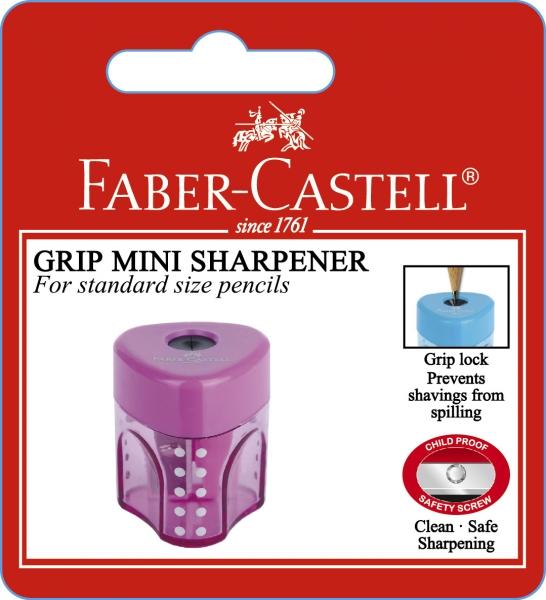 BLISTER 1 BUC ASCUTITOARE GRIP PASTEL FABER-CASTELL 0