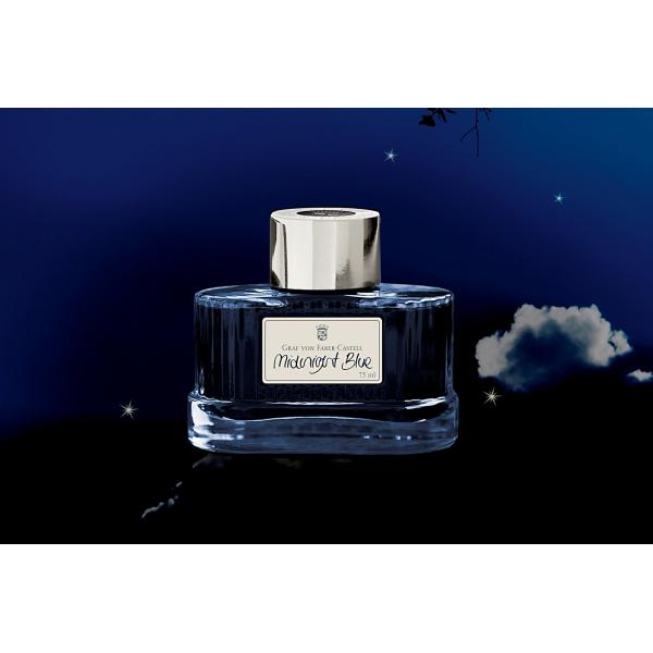 Calimara Cerneala Midnight Blue 75 ml Graf von Faber-Castell 0