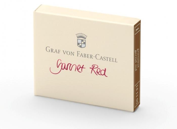 Cartuse Cerneala Mici Garnet Red Graf von Faber Castell set 6 buc 0
