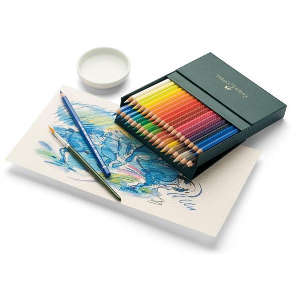 Creioane Colorate Acuarela 36 Culori Studio Durer Faber-Castell 1