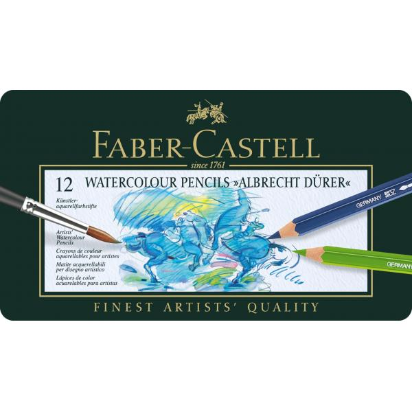 CREIOANE COLORATE ACUARELA A.DURER 12 CULORI Faber-Castell 1
