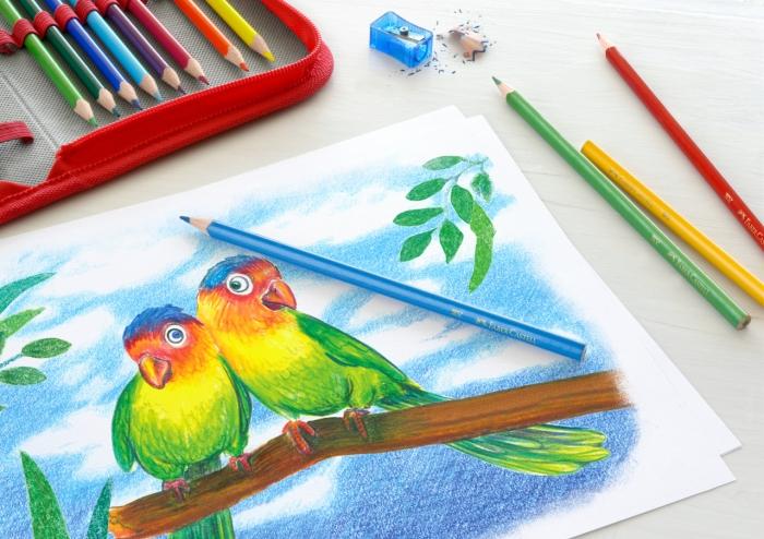 Creioane Colorate Triunghiulare 18+4+2 PROMO Faber-Castell 1