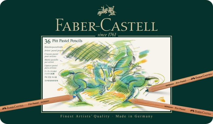 Creioane Pastel Pitt 36 Culori Faber-Castell 1