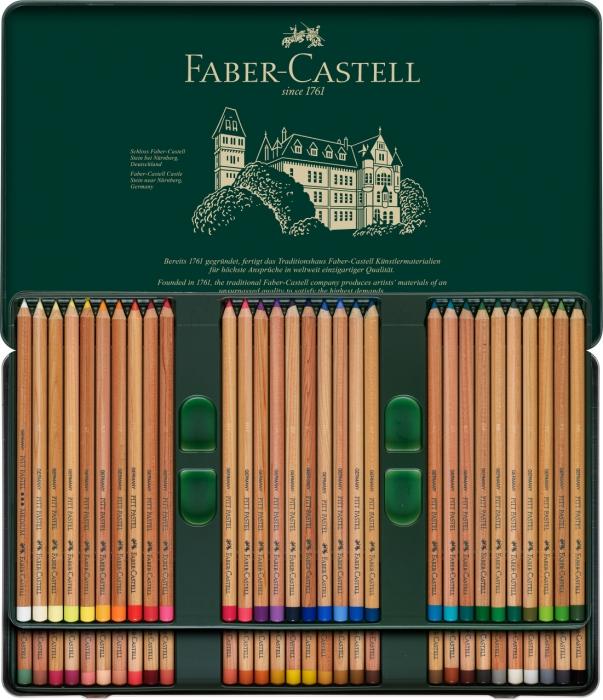 CREIOANE PASTEL PITT 60 CULORI Faber-Castell 2