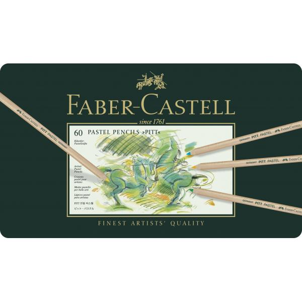 CREIOANE PASTEL PITT 60 CULORI Faber-Castell 1