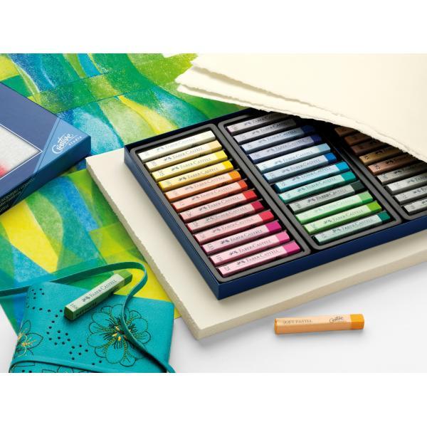 Creioane Pastel Soft 36 Culori Faber-Castell 2