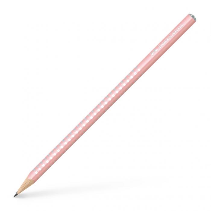 Creion Grafit B Sparkle Rose 2019 Faber-Castell 0