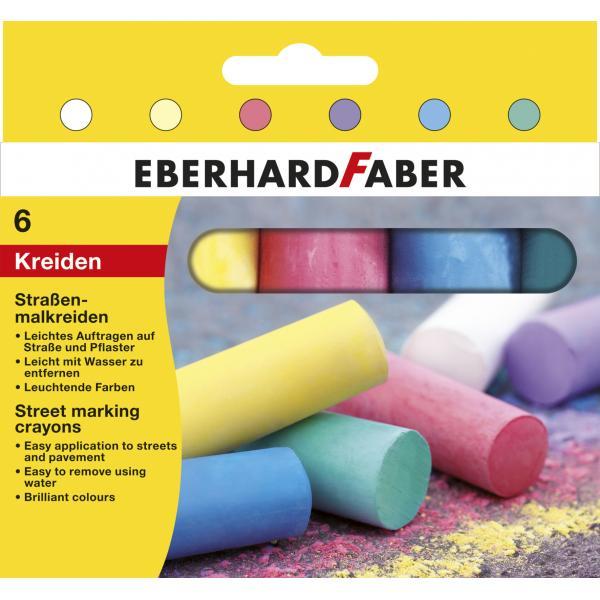 CRETA 6 CULORI DESEN ASFALT EberhardFaber 0