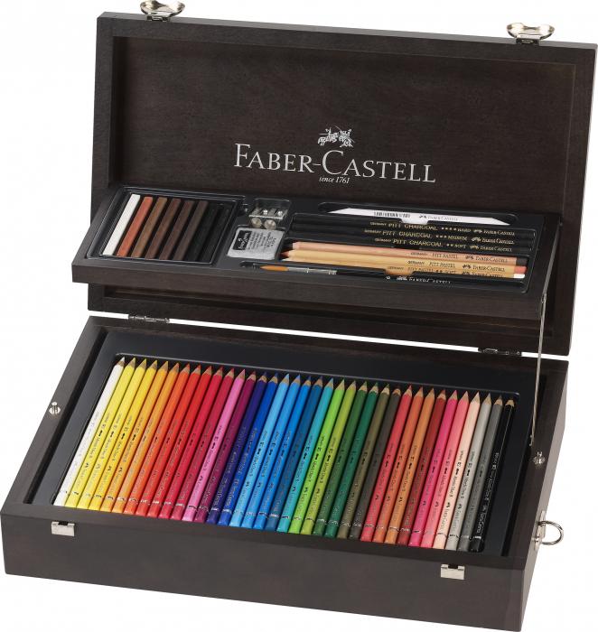 Cutie Lemn Art&Graphic 125 Buc Faber-Castell 2