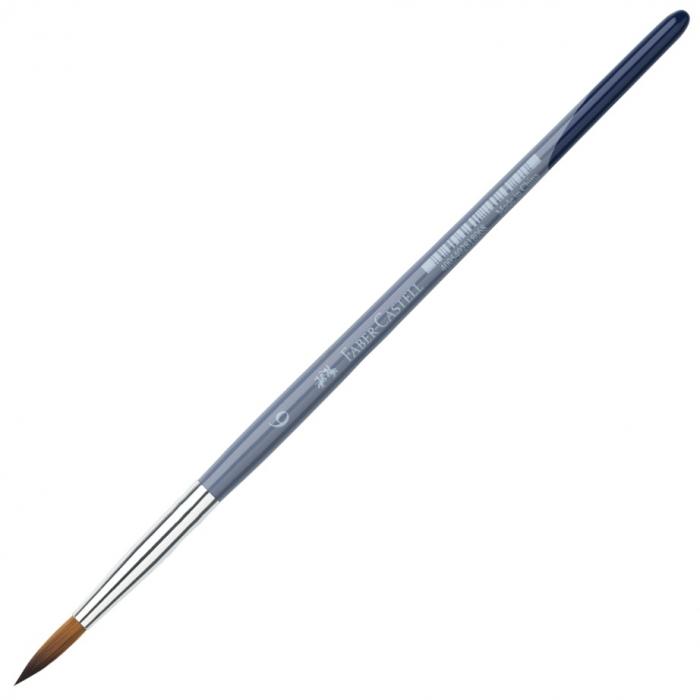 Pensula No 6 Varf Rotund Creative Studio Faber-Castell 0