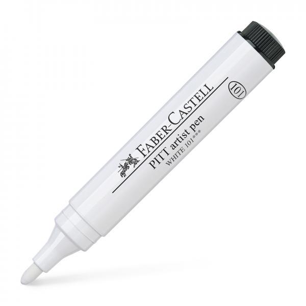 Pitt Artist Pen 2.5 Alb Faber-Castell 0