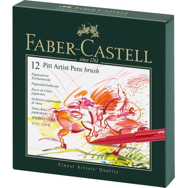 Pitt Artist Pen Cutie Studio 12 Buc Faber-Castell 0