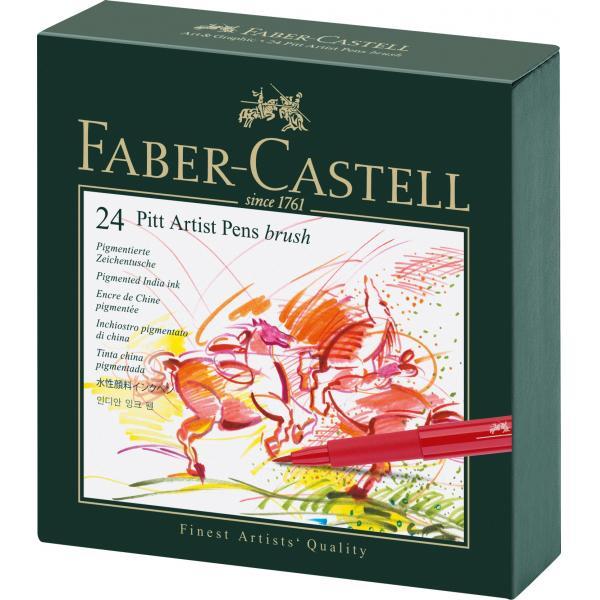 Pitt Artist Pen Cutie Studio 24 buc Faber-Castell 0