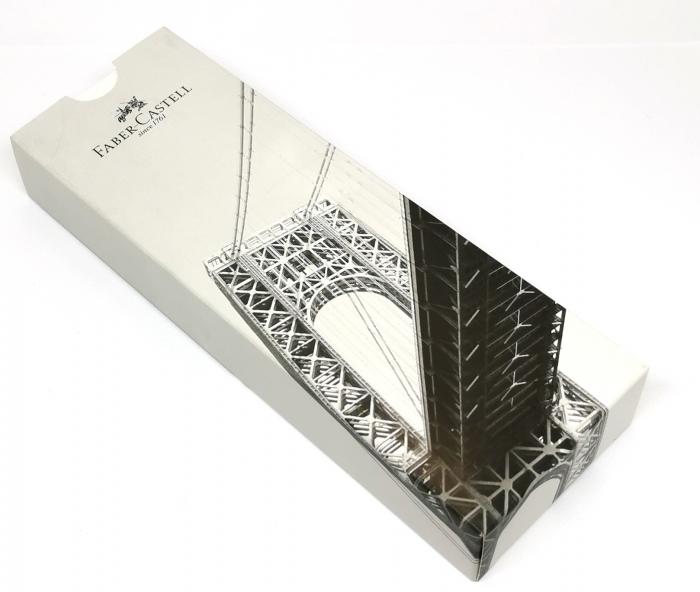 Pix Ambition 3D Leaves Negru Faber-Castell 1