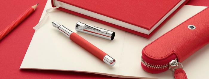 Pix Guilloche India Red Graf Von Faber-Castell 3
