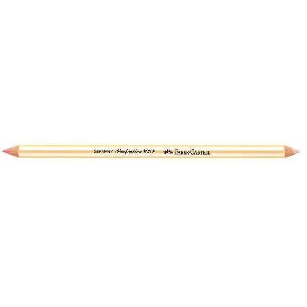 Radiera Creion Perfection radiera 1/2 roz, 1/2 alba Faber-Castell 1