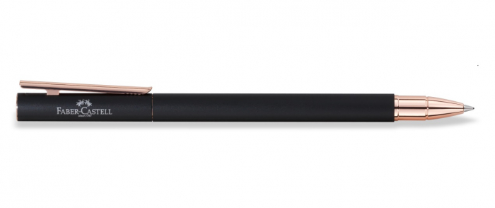 Roller Neo Slim Metal Black Rosegolden Faber-Castell 2