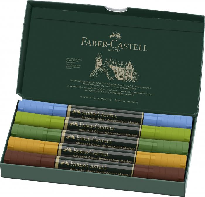 Set 5 Markere Solubile Peisaj A.Durer Faber-Castell 1
