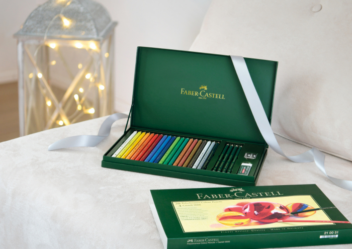 Set Cadou 20 Creioane Collorate Polychromos+Accesorii Faber-Castell 2