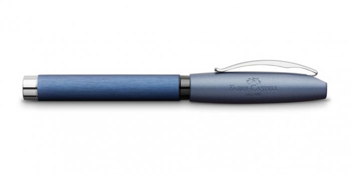Set Cadou Stilou + Pix Essentio Aluminium Blue Faber-Castell 3