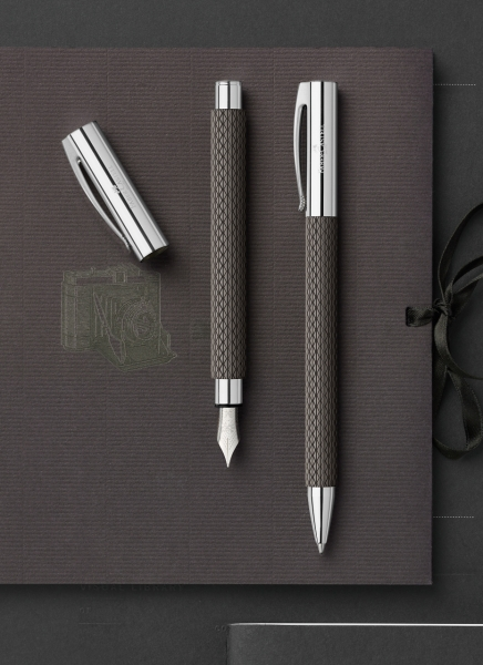 Stilou Ambition Opart Black Sand Faber-Castell 4