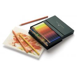 Creioane Colorate Polychromos 36 Culori Cutie Studio Faber-Castell1