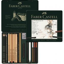 Set Pitt Monochrome 21 Buc Faber-Castell0