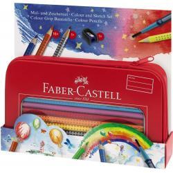 Set Cadou Desen Si Pictura Colour Grip Faber-Castell2