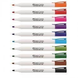 Set 6 culori Pastel Marker Whiteboard Slim 1560 Faber-Castell1