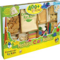 Set Creativity Craft Lemn Clasic Faber-Castell0