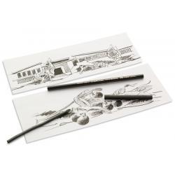 Carbune Natural Diametru 6-11mm Pitt Monochrome Faber-Castell1