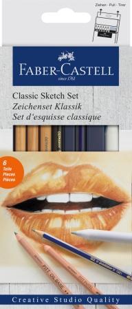 Set Desen 6 Buc Pentru Schite Faber-Castell0
