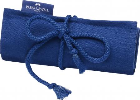 Rollup 27 Creioane Colorate Aquarelle Goldfaber+Accesorii Faber-Castell1