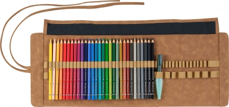 Rollup 30 Creioane Colorate A.Durer & Accesorii Faber-Castell1