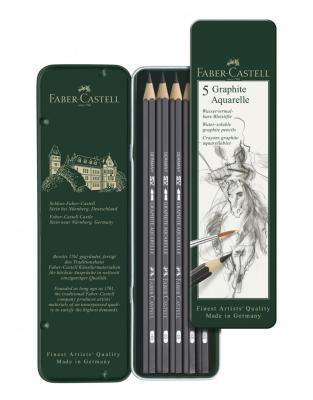 SET 5 BUC CREION GRAFIT AQUARELLE Faber-Castell0