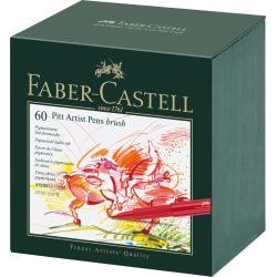 Pitt Artist Pen Cutie Studio 60 buc Faber-Castell0