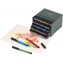 Pitt Artist Pen Cutie Studio 60 buc Faber-Castell1