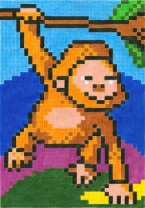 Set 12 Creioane Colorate Grip si Carte Colorat Pixel Faber-Castell1