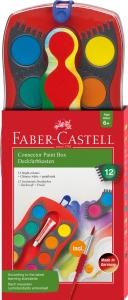 Acuarele 12 Culori Connector Faber-Castell0