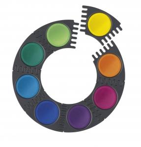 Acuarele 12 Culori Connector Faber-Castell1