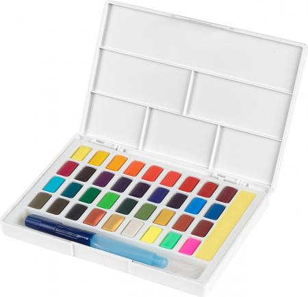 Acuarele 36 Culori Creative Studio Faber-Castell0