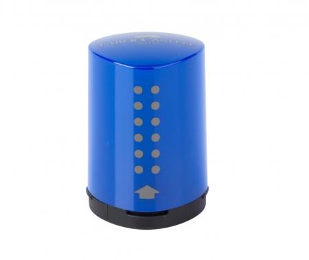 Ascutitoare GRIP 2001 Mini Rosu-Albastru Faber-Castell0