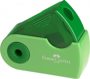 Ascutitoare Plastic Simpla Sleeve-Mini Pastel Faber-Castell2