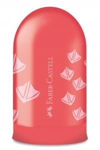 Ascutitoare Simpla cu Container Amprente Faber-Castell0