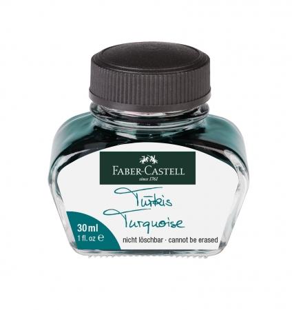 Calimara Cerneala Turquoise 30 ml Faber-Castell0