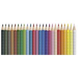 Creioane Colorate Grip 2001 24 culori Faber-Castell3