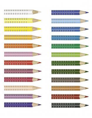 Creioane Colorate Grip 2001 24 culori Faber-Castell1