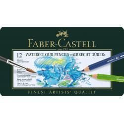 Creioane Colorate Acuarela A.DURER 12 Culori Faber-Castell1