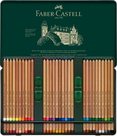 CREIOANE PASTEL PITT 60 CULORI Faber-Castell2